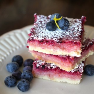 Blueberry Lemonade Bars