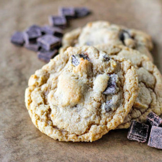Whole Wheat Dark Chocolate Chunk Cookies