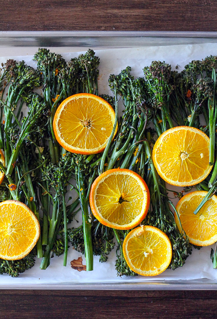 Orange Roasted Broccolini1
