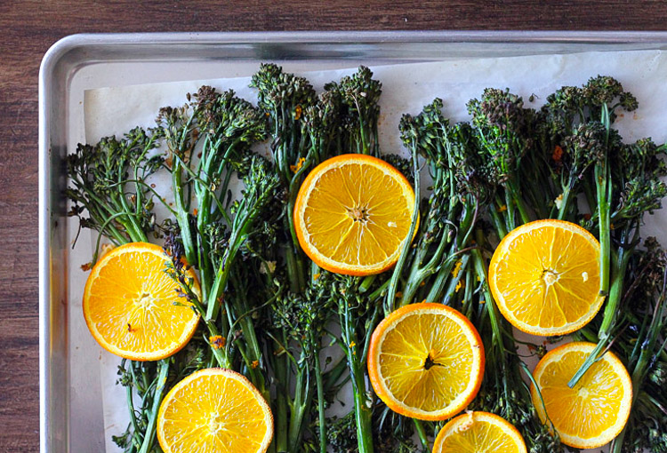 Orange Roasted Broccolini3