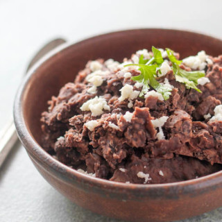 Slow Cooker Non-Refried Beans