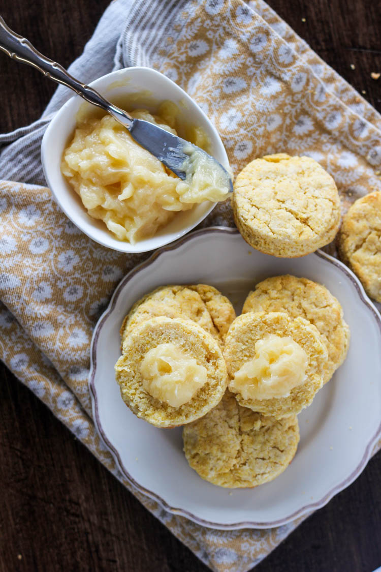 Cornmeal Biscuits - Wright Family Table