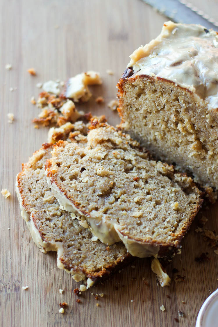 Applesauce Bread with Maple Glaze - Wright Family Table