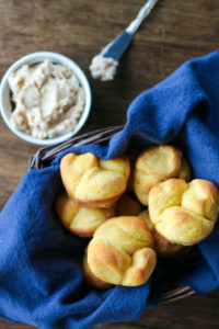 Sweet Potato Rolls with Maple-Cinnamon Butter - Wright Family Table