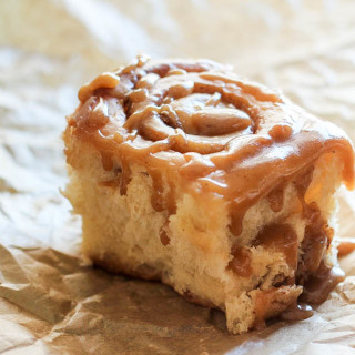 Brown Butter and Maple Cinnamon-Spice Rolls