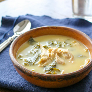 Chicken, Kale, and Lemon Soup