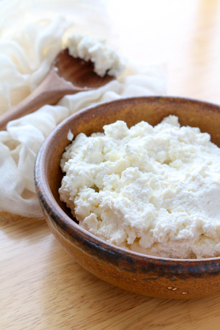 Creamy Homemade Ricotta - Wright Family Table